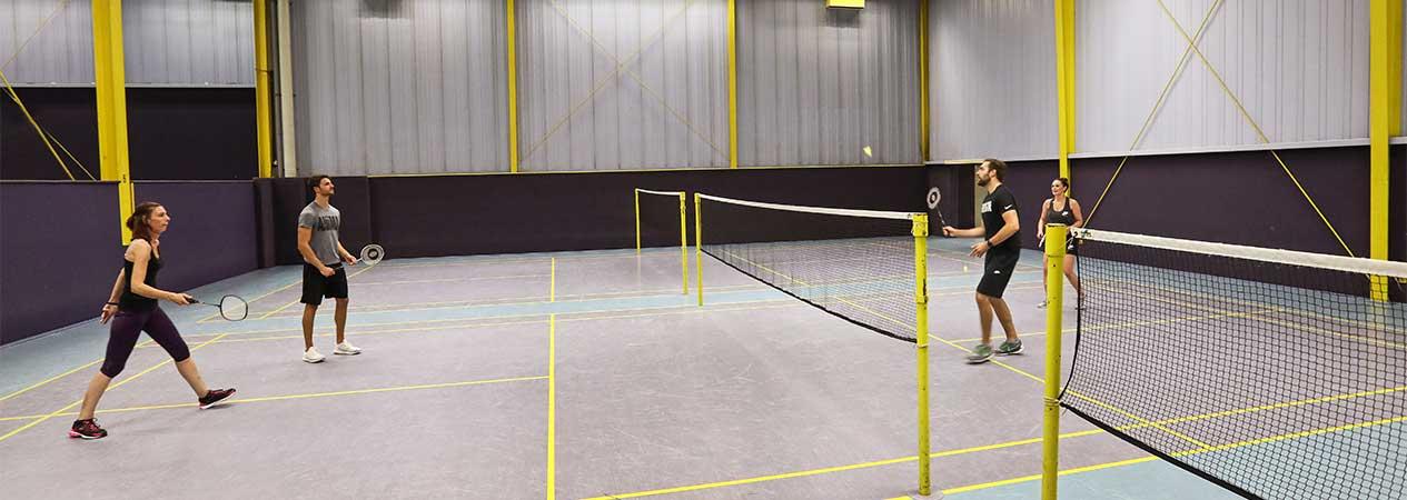 Badminton im Aktiv Sportpark Dormagen