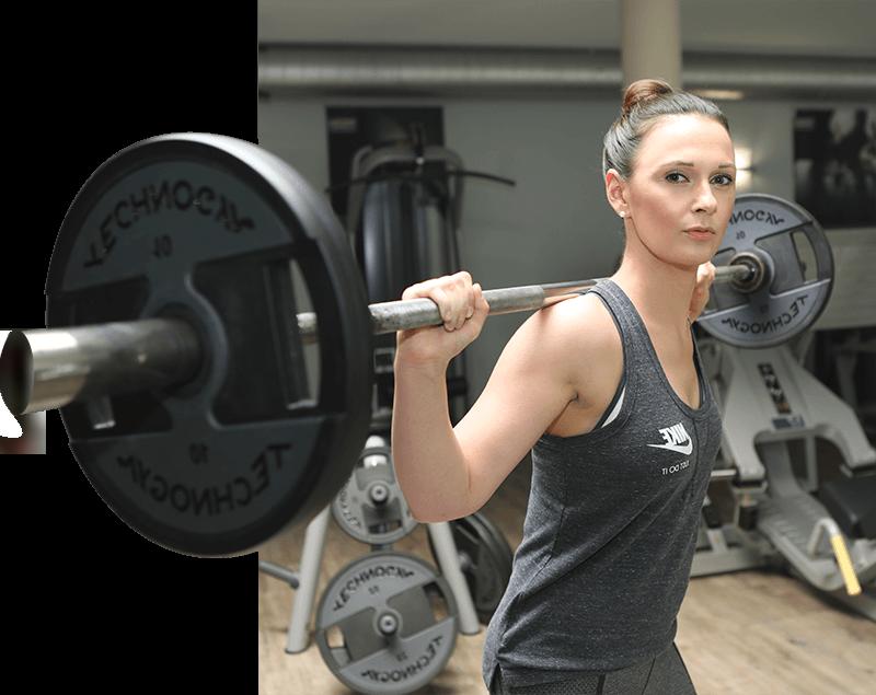 Muskelaufbau im Aktiv Sportpark Dormagen