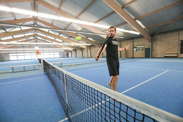 Tennis spielen